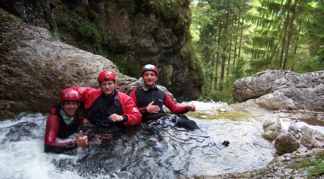 Canyoning in den Kitzbühler Alpen