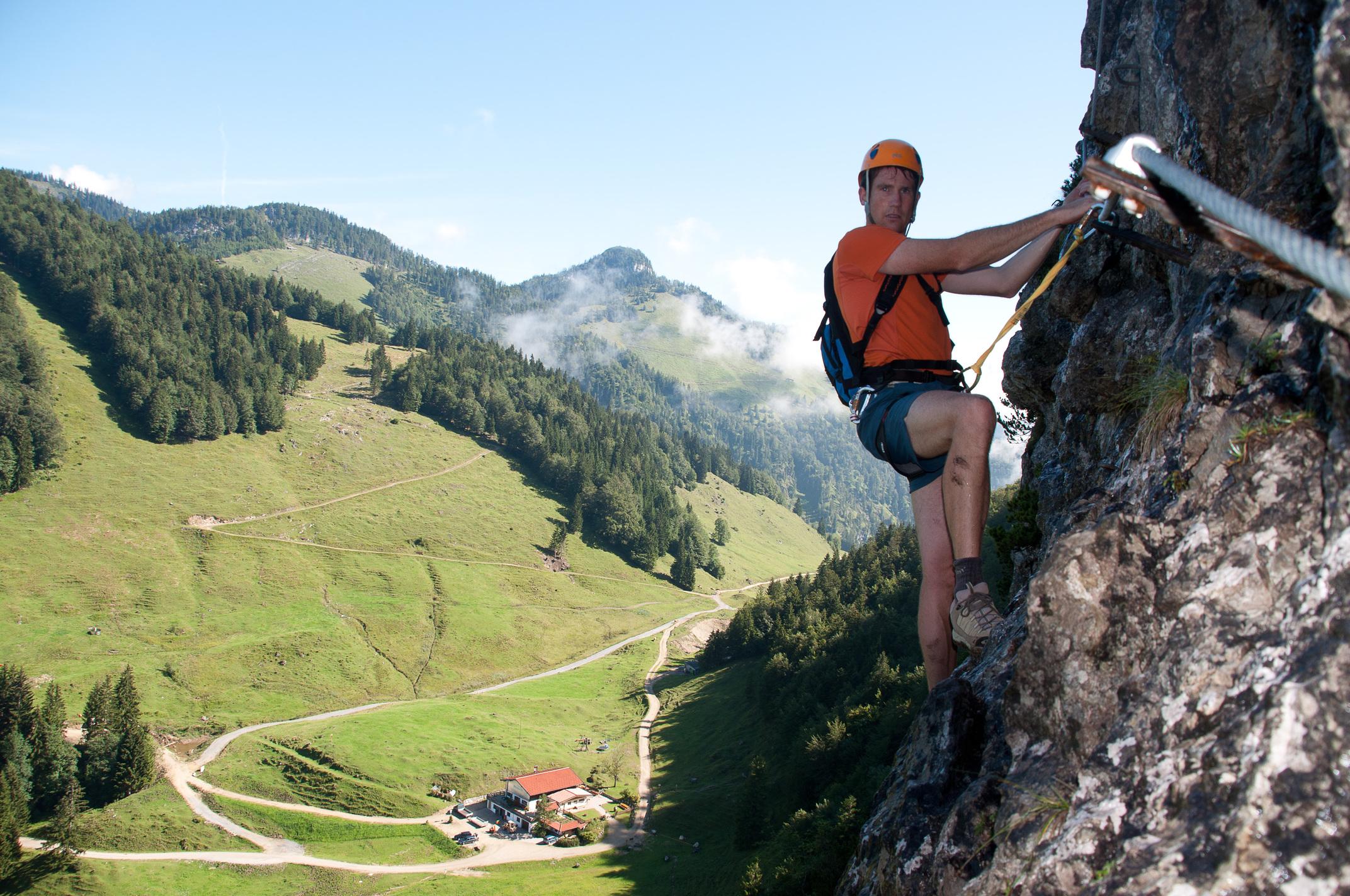 Klettersteig Ottenalm : Klettersteig sport und natur