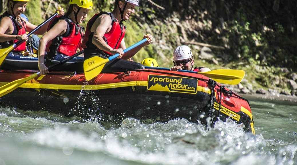 Rafting in Kössen in Kitzbühel